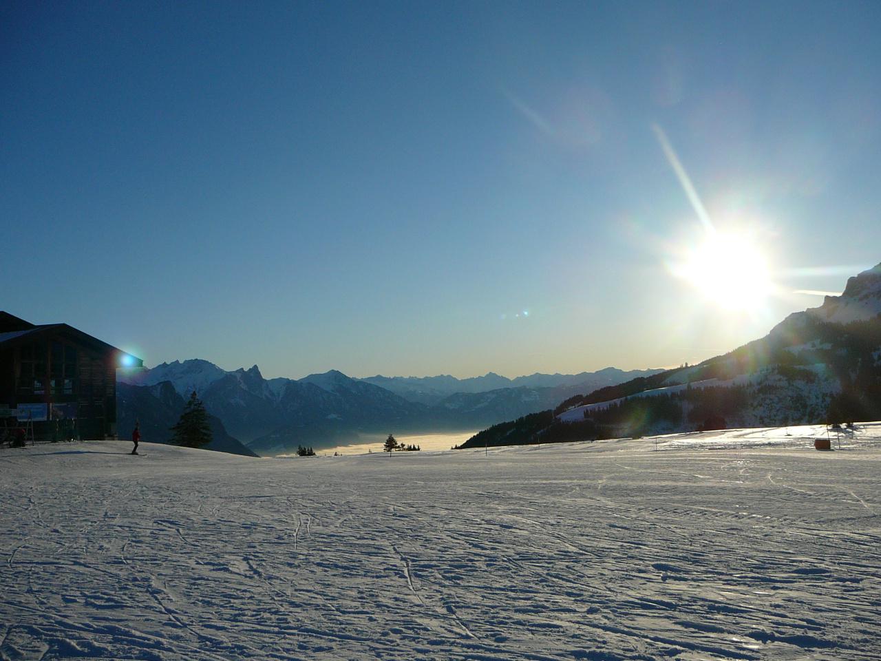 Flumser-Berge -Schweiz
